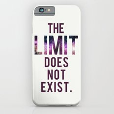 The Limit Does Not Exist - Mean Girls quote from Cady Heron Slim Case iPhone 6s