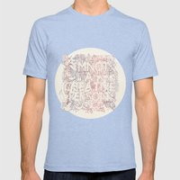 I am not a creative person Mens Fitted Tee Tri-Blue SMALL