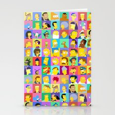 Simpsons Stationery Cards