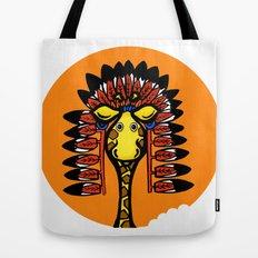 indian giraffe Tote Bag