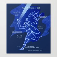 Warrior Girl 5 Canvas Print