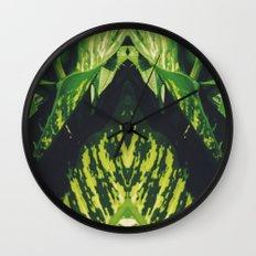 50 Shades of Green (5) Wall Clock