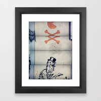 Split Framed Art Print