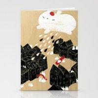 Rain of Terror Stationery Cards