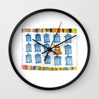 Doctor Whoodle Wall Clock