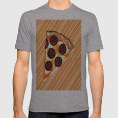 The Slice Mens Fitted Tee Athletic Grey SMALL