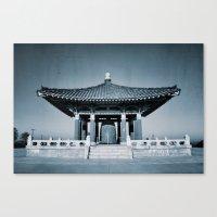Orient Architecture Canvas Print