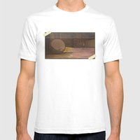 Sounds In The Attic Mens Fitted Tee White SMALL