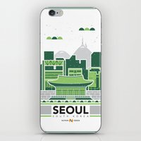 City Illustrations (Seou… iPhone & iPod Skin