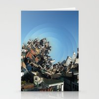 Spinning City Stationery Cards