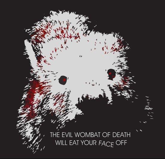 Evil Wombat of Death Canvas Print