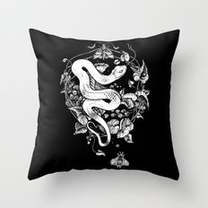 The End Of The Summer Throw Pillow