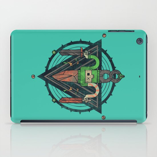 He, with the peculiar voice iPad Case