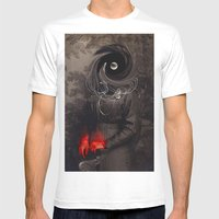 Victoria Mens Fitted Tee White SMALL