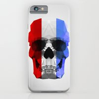 Polygon Heroes - The Patriot Skull iPhone 6 Slim Case