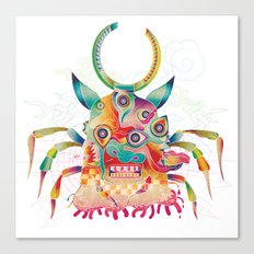 Ushioni - Demoncow Canvas Print