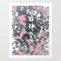 Boss Art Print