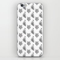 Hungry like the Wolf iPhone & iPod Skin