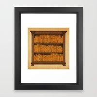 Many Doors Framed Art Print