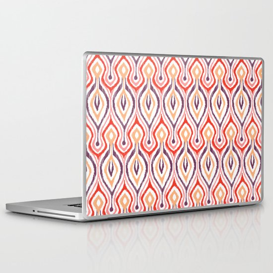 Sketchy Ikat - Nebula Laptop & iPad Skin