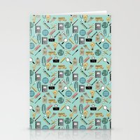 Back to school 4 Stationery Cards