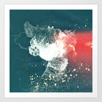 Abstract Composition No. 1 Art Print