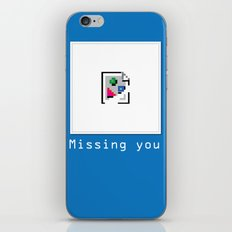 Talk Nerdy to me - Missing you iPhone & iPod Skin