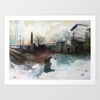 In A Fog Art Print