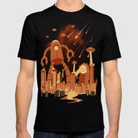Armageddon Mens Fitted Tee Black SMALL