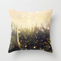 Hidden In The Magic Gard… Throw Pillow
