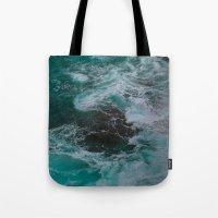 Big Sur Waves Tote Bag