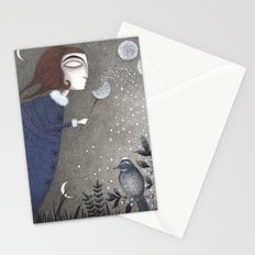 Winter Twilight Stationery Cards