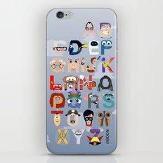 P is for Pixar (Pixar Alphabet) iPhone & iPod Skin