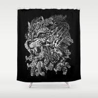 Jaguar Warrior Shower Curtain