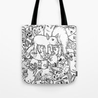 counting pigs Tote Bag