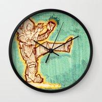 Astrokick. Wall Clock