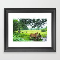 India [3] Framed Art Print