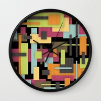 Retrotopia Wall Clock