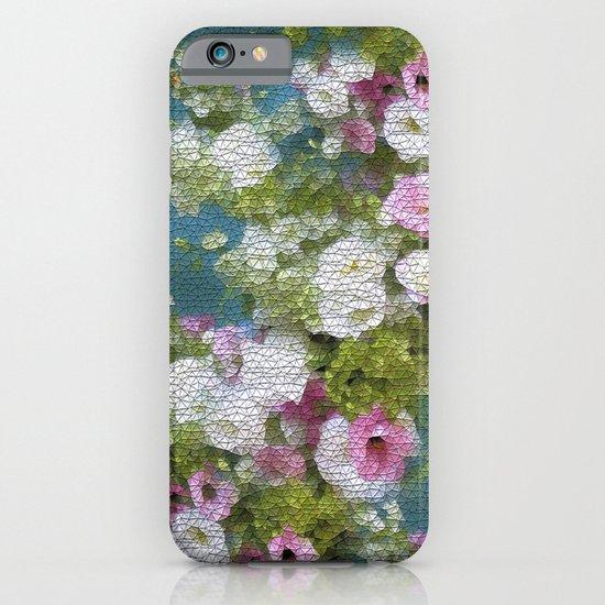Mosaic Vintage Impressionism- Country Flower Love Joy iPhone & iPod Case