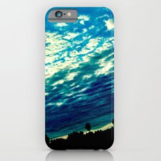 Over the shoulder clouds. iPhone 6 Slim Case