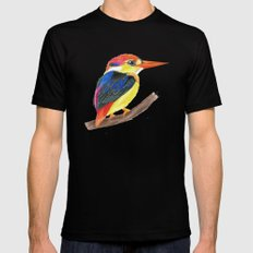 Kingfisher III SMALL Black Mens Fitted Tee