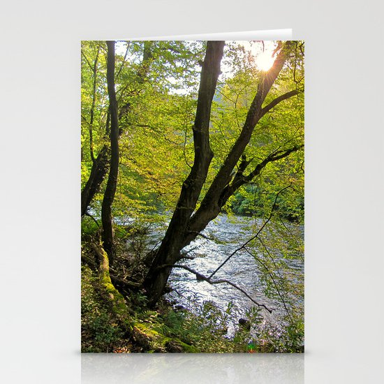 forest Stationery Card