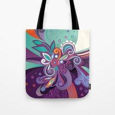 Floral curves of Joy Tote Bag