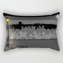 Rectangular Pillow - HaPPy CrEEpY HaLLoWeeN! - Absentis Designs
