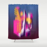Swedenborg's Left Pinky Shower Curtain