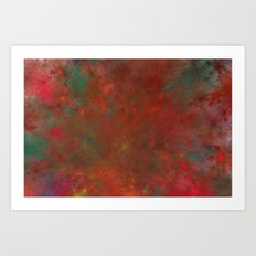 in the middle of the fire Art Print