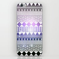 Galaxy Navajo Tribal Pat… iPhone & iPod Skin