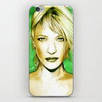 Cate Blanchett - Poptrai… iPhone & iPod Skin