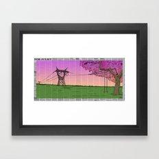 For Juliet Framed Art Print