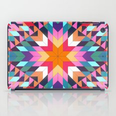 Triangles 2 abstract tribal pattern iPad Case